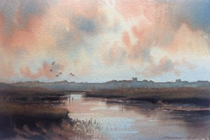 Jonathan Yule 2015 -Suffolk Creek near Orford