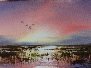 Jonathan Yule - Pintail at Dawn for website